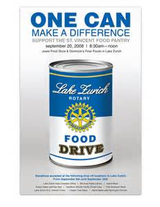 Can Food Drive Ideas