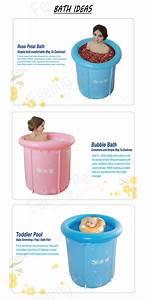 Buy Foldable Bath Bucket Inflatable Bathtub Health