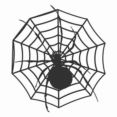 Spider Aranha Silhouette Teia Cartoon Transparent Spinne