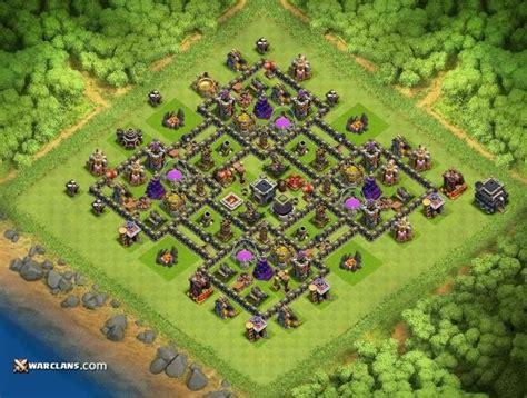 h9 top 2 farmig base elixir gold clash of clans th9 farming bases clash of clans clashers Coc