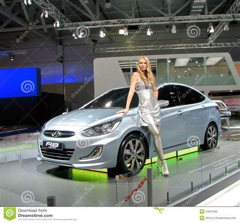 Hyundai Rb Concept Editorial Image Image 24047355