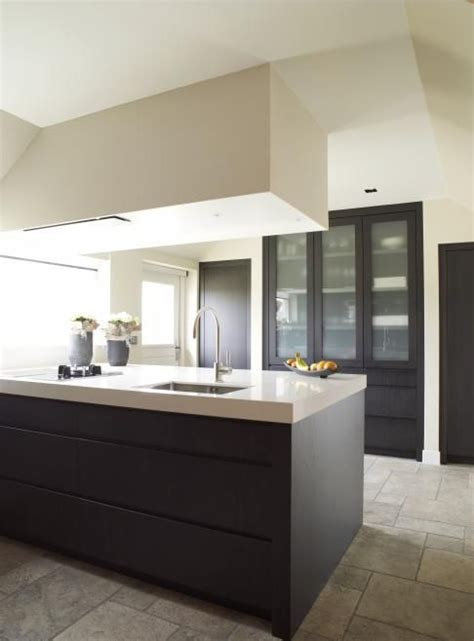 black and green kitchen clean modern concrete barefootstyling kitchens 4642