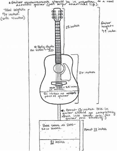 Guitar Dimensions Crawl Call Measurements Guitars Airy
