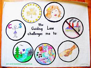 Owl  U0026 Toadstool  Guiding Law Poster Activity