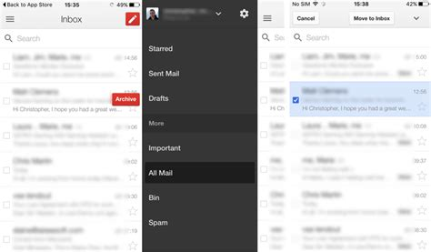 how to delete email on iphone how to delete archived messages on gmail on iphone
