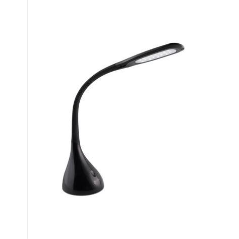 ottlite led desk l ottlite 11 25 in led creative curves black desk l