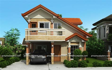 php   storey house plan  balcony pinoy house plans