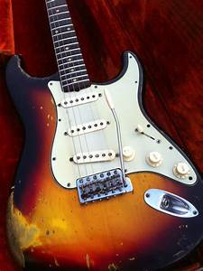 Fender Stratocaster 1962 Sunburst Guitar For Sale Anders