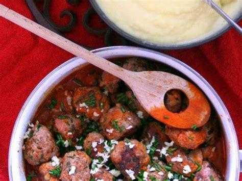 boulettes de viande sauce tomate cuisine italienne recettes de boulettes de viande et sauce tomate
