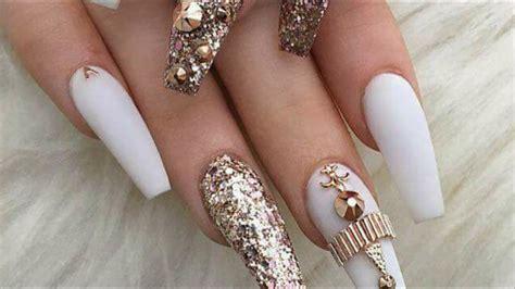 Decoración de uñas para halloween. Diseños para uñas largas - YouTube