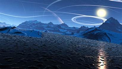 4k Mountain Scenery Wallpapers Lake Sci Fi