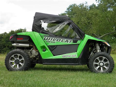 Soft Full Door Kit (add On Only)~ Arctic Cat Wildcat Trail