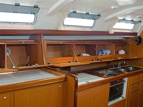 boat galley kitchen designs find storage space just by going sailing quinju 4853