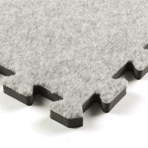 Royal Interlocking Carpet Tile gray tile.