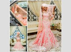 2015 Nigeria Mermaid Wedding Dresses African Traditional