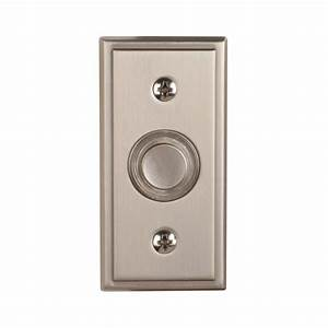 New Quality Nickel Wired Outside Home Doorbell Door