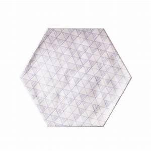 Carrelage Mural Hexagonal : carrelage mural hexagonal 17 5 x 20 cm d cor makara castorama salle de bain design ~ Carolinahurricanesstore.com Idées de Décoration