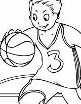 Coloring Pages Volleyball Printable sketch template