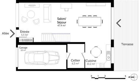 plan maison etage 4 chambres plan maison à étage avec 4 chambres ooreka