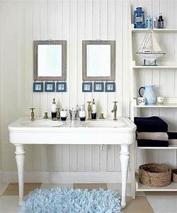 15 beach themed bathroom design ideas rilane With coastal bathroom ideas photos