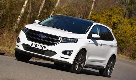 Ford Edge St Price 2018 ford edge st line review price specs and release