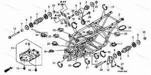 Honda Atv 2011 Oem Parts Diagram For Frame