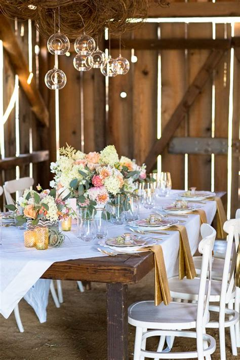 shabby chic wedding reception shabby chic barn wedding receptions wedding and vintage china