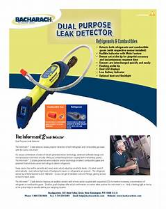 The Informant Dual Purpose Leak Detector Manuals