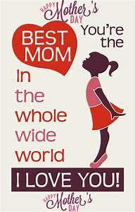 Happy Mothers Day Quotes & Sayings From Daughter in ...