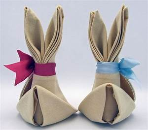 Pliage Serviette Lapin Simple : pliage de serviettes un des arts de table les plus charmants napkins folding pinterest ~ Melissatoandfro.com Idées de Décoration