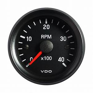 Igauge Tachometer 52 Mm Electrical Auto Gauge Diesel Engine 6000 Rpm On Dash