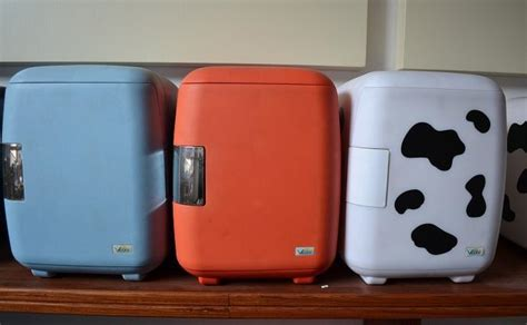 Cowhide Refrigerator by 6l Cooler Bag Cosmetics Car Refrigerator Cow Refrigerator