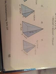 Höhe Von Pyramide Berechnen : wie kann man die h he des pyramiden ausrechnen wenn man nur seiten l nge s und grundfl che hat ~ Themetempest.com Abrechnung
