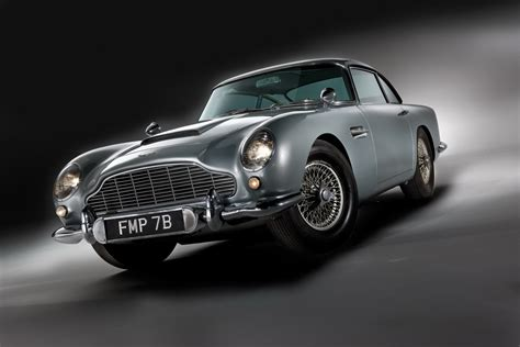 Aston Matin Car :  James Bond's Original '007' Aston