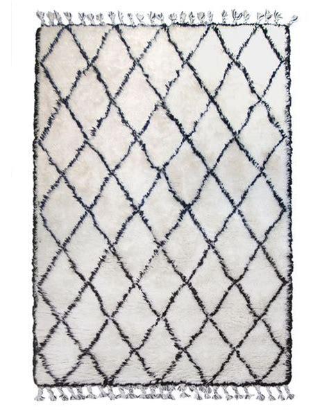 hk living tapis berbere blanc  cm hk living