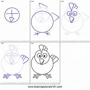 How To Draw Hen For Kids Printable Step By Step Drawing