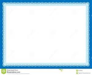 Certificate Border Design Frame