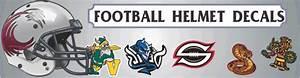 custom football helmet decals football helmet stickers With football helmet letter decals