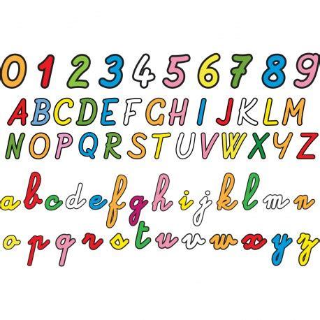 chambre style york stickers alphabet et chiffres pour apprendre déco enfants