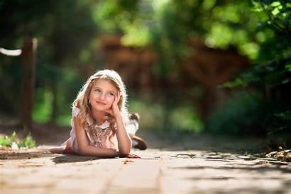 Daydreaming Child Sun Smile Wallpapers Dog Ashlyn
