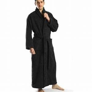 Extra large tall men39s bathrobe cotton turkish terry xl for Robe extra longue