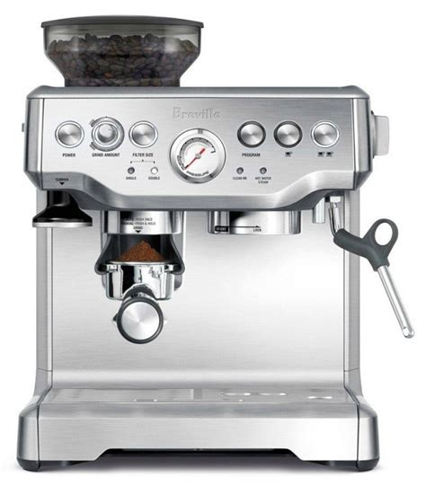 saeco espresso machine how to use breville barista express bes870xl espresso machine