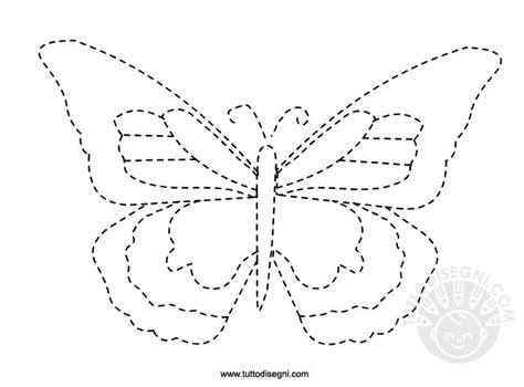 schede da colorare primavera pregrafismo per la primavera farfalla tuttodisegni