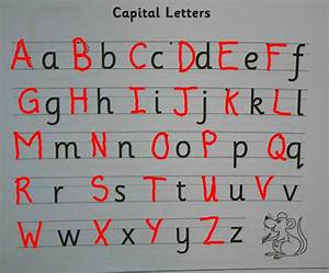 Leckaun national school upper and lower case letters for Upper n lower case letters
