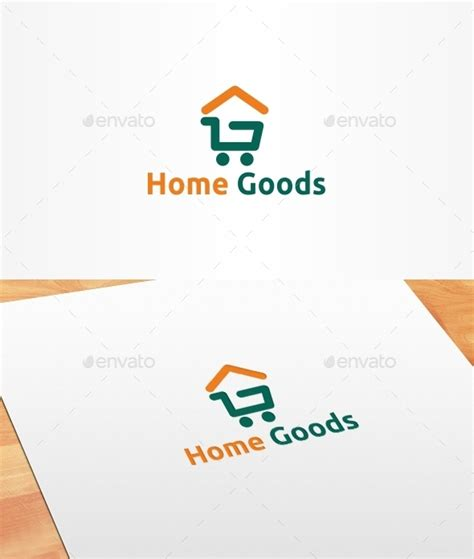 Home Goods Logo Template By Artsterdam  Graphicriver