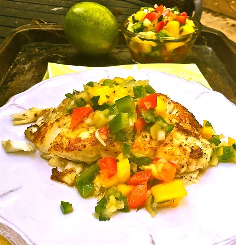 grouper grilled mango salsa fillets fresh grilling grill tallahassee blogs community fish
