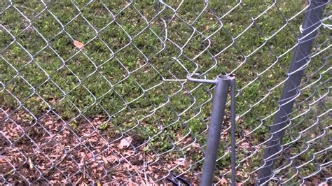 wood fence post how to patch and repair a chain link fence diy