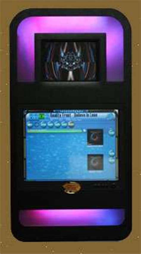 touchscreen jukeboxes dual screen intellitunes