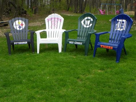 plastic adirondak chairs nfl or any team or by