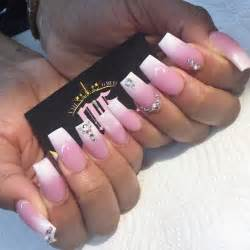 theme wedding top 45 pink and white acrylic nails